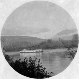"[S.S. ""Islander"" passing out of First Narrows]"