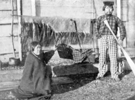 [Unidentified First Nations man and woman]