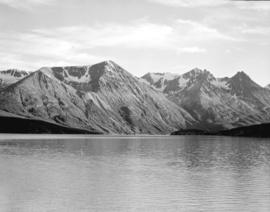 "[View of] West Taku Arm, Lake Tagish from ""S.S. Tutshi"""