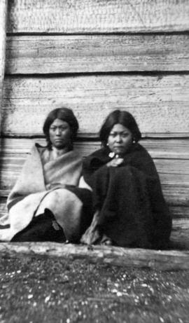 [Two unidentified First Nations women]