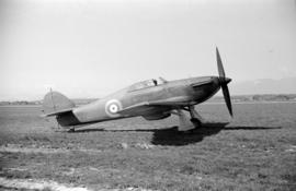 [A Hawker Hurricane]