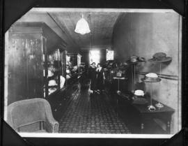 Interior of Rooney's Millinery Store