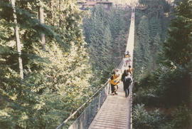 Tillicum on the Capilano Suspension Bridge