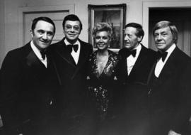 Jack Bean, Ross Hunter, Mitzi Gaynor, Hugh Pickett and Jacques Mapes
