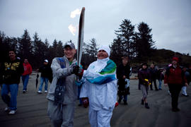 Day 003, torchbearer no. 139, Ruth Sadler - Pacific Rim National Park (Long Beach)