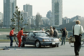 Make Vancouver Sparkle Ford Taurus prize in parking lot at Vanier Park