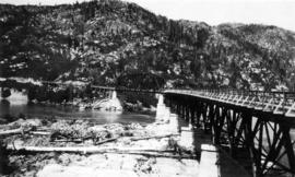 [Board of Trade trip - The Skeena bridge, Terrace, B.C.]