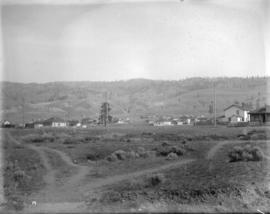 [Unidentified settlement in the interior]
