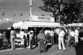 Orange Julius stand on P.N.E. grounds