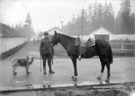 "29th Battalion, ""Jack"" [dog], ""Jim"" [soldier], ""Ned"" [horse]"