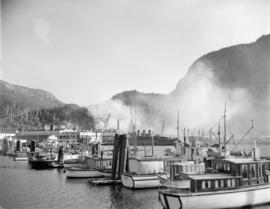 [Fishing boats near] Pacific Mills
