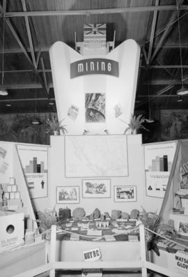 Dept. of Trade and Industry display at P.N.E.