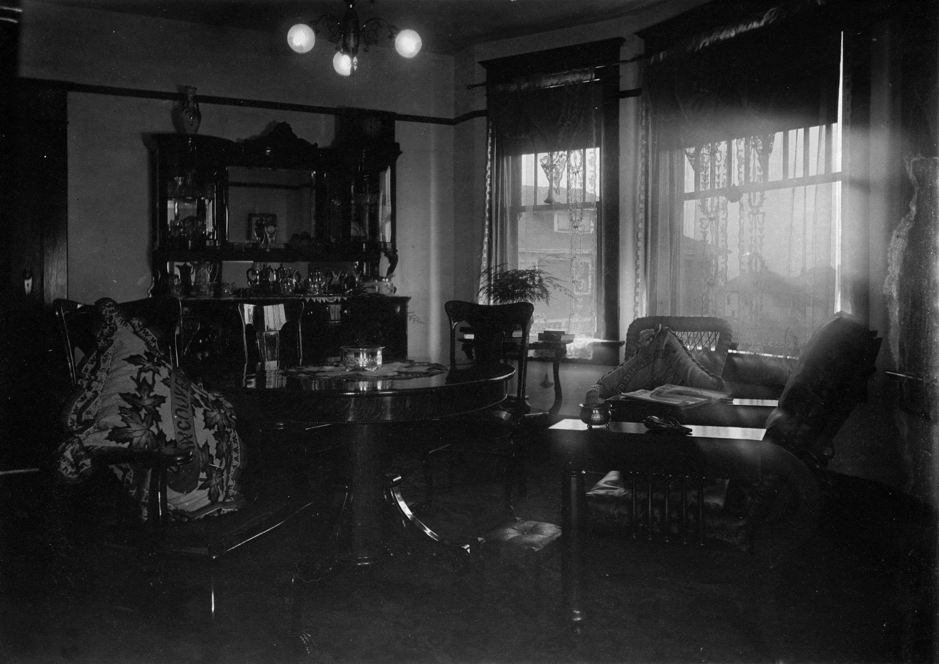 Interior Of Urban House City Of Vancouver Archives