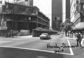 Hornby and Dunsmuir [Streets looking] west