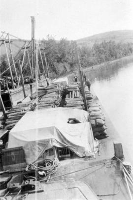 Logging boats - scow