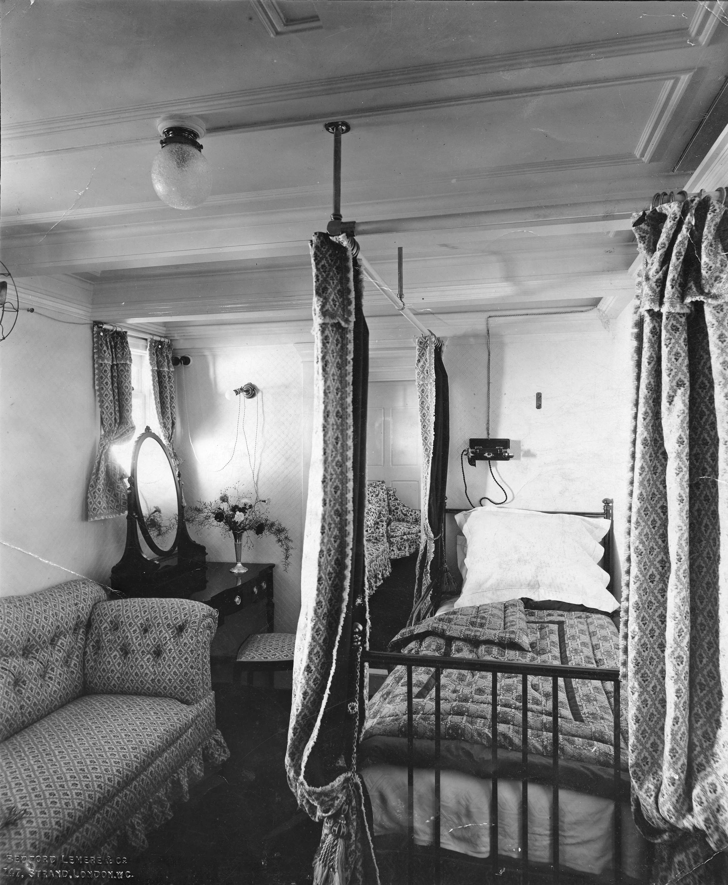 HRH Duchess Of Connaughts Cabin Interior On The