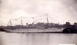 C.P.R. Str. Empress of India at Docks. Vancouver, B.C.