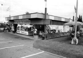 Concession stand on P.N.E. grounds
