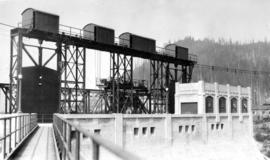 Trip to Stave Falls by B.C.E.R. : Head works on main dam