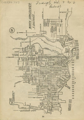 Sectional map and street directory of Vancouver : [Taylor Road to Coleman Street to Capilano Rive...