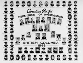 [Composite photograph of Canadian Pacific Department of Investigation]