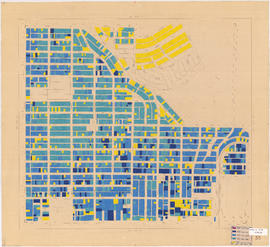 Age of buildings : Blenheim Street to Maple Street and King Edward Avenue to 41st Avenue