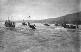 [Power boat race on Burrard Inlet]
