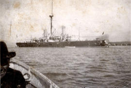 "[H.M.s. ""Imperieuse"" off Vancouver]"