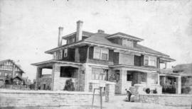 [Exterior of M.P. Cotton's residence - Matthews Avenue and Granville Street]