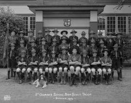 St. George's School Boy Scout Troop - Summer 1952