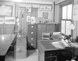 [First City Archives room at temporary City Hall in the Holden Building]