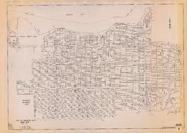 City of Vancouver, B.C. area map : Discovery Street to Granville Street and English Bay to King E...