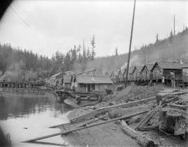 Pacific Mills [village and mill on the] Queen Charlotte Islands