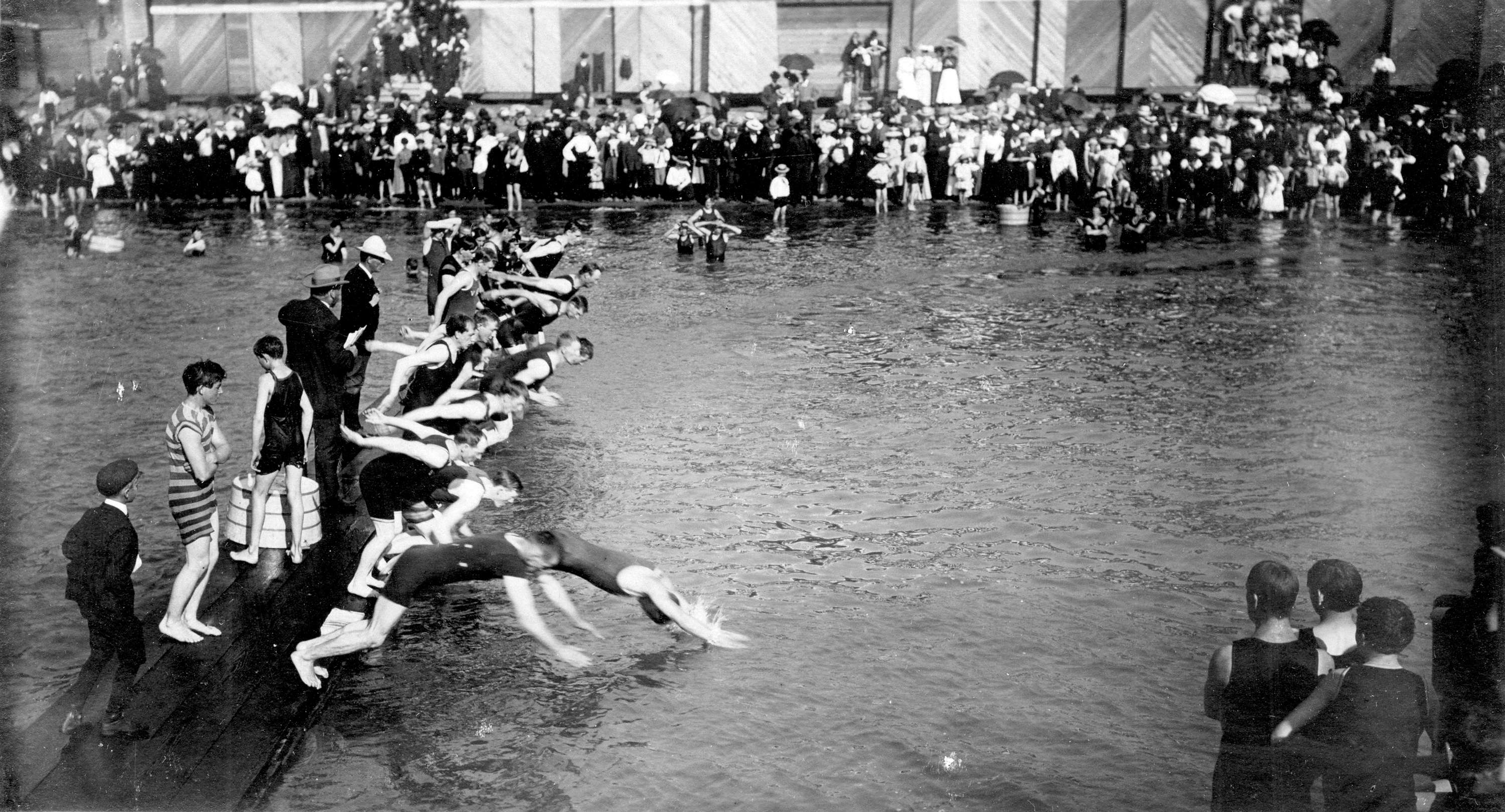 Archive Photos of the Day: Swimming » Vancouver Blog Miss604