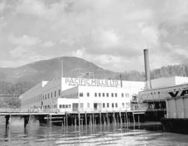 Pacific Mills wharf
