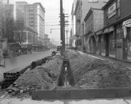 B.C. Telephone - Work on Georgia Street