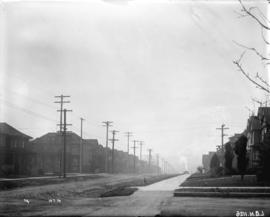 [View of Burrard Street, looking south from Burnaby Street]