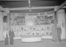 Canadian Pacific Exhibition [B.C. poultry display]