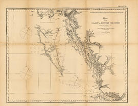Chart of the coast of British Columbia, north of latitude 51 degrees