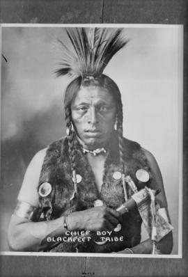 Chief Boy, Blackfeet Tribe