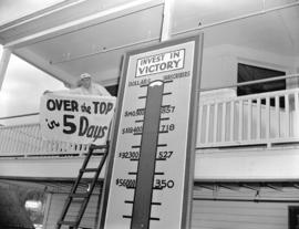7th Victory Loan thermometer