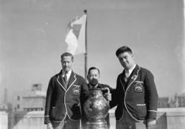 Canadian Rugby Union tour to Japan [Stuart Thomson on left]