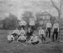 [Baseball team at] Yates Street, Victoria