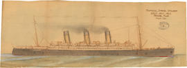Proposed turbine steamer [passenger vessel, Canadian Pacific Railway]