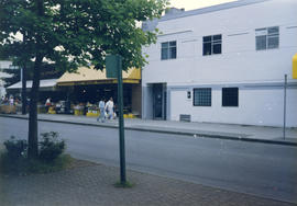 [Exterior of the] VGLCC [Vancouver Gay and Lesbian Community Centre at Davie and Bute]