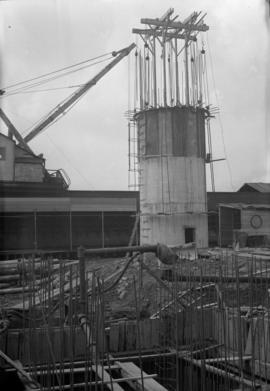 New powerhouse construction -chimney