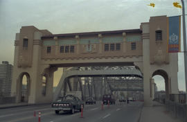 Burrard Bridge after repainting