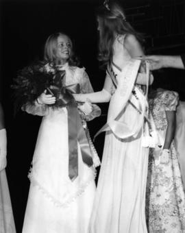 Jeannette Warmerdam, Miss P.N.E. 1973 with previous winner