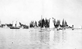 [Sailboats in Coal Harbour]