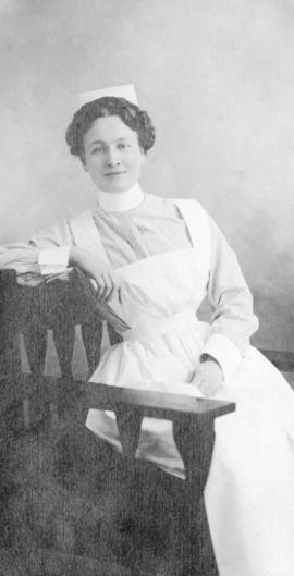 [Portrait of nurse]